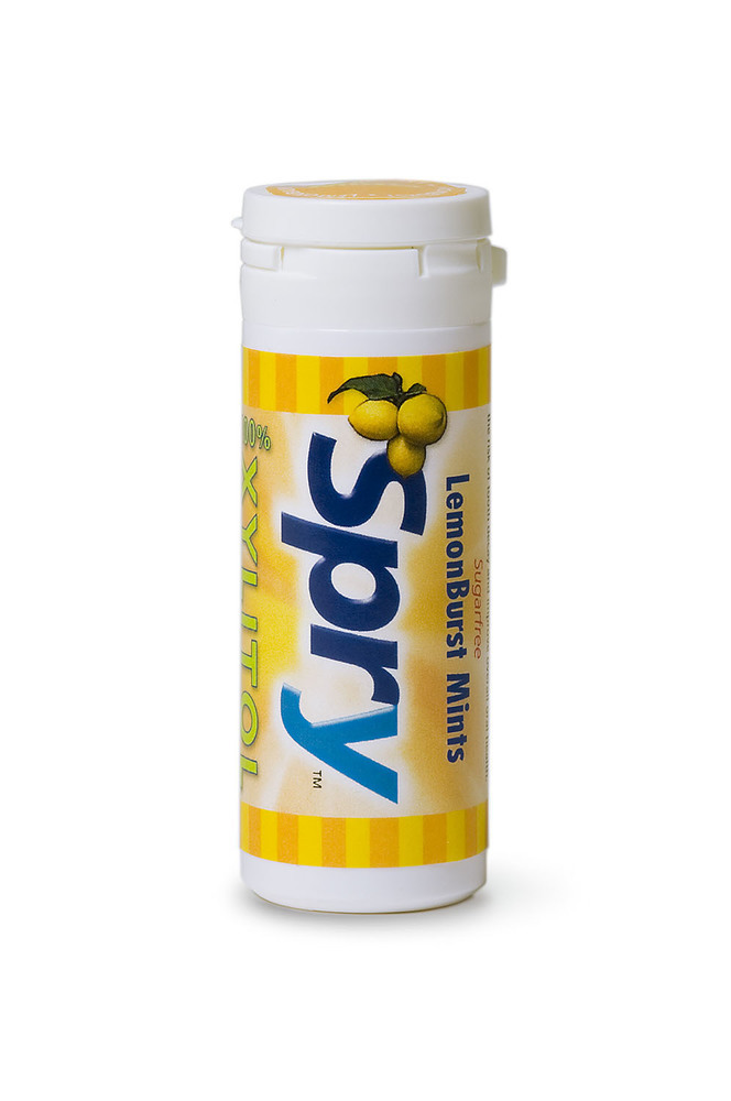 Lemon Burst Xylitol Mints