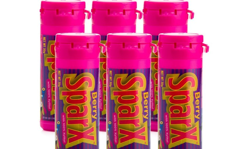 Berry SparX Xylitol (SUGAR FREE) Candy 6 Pack