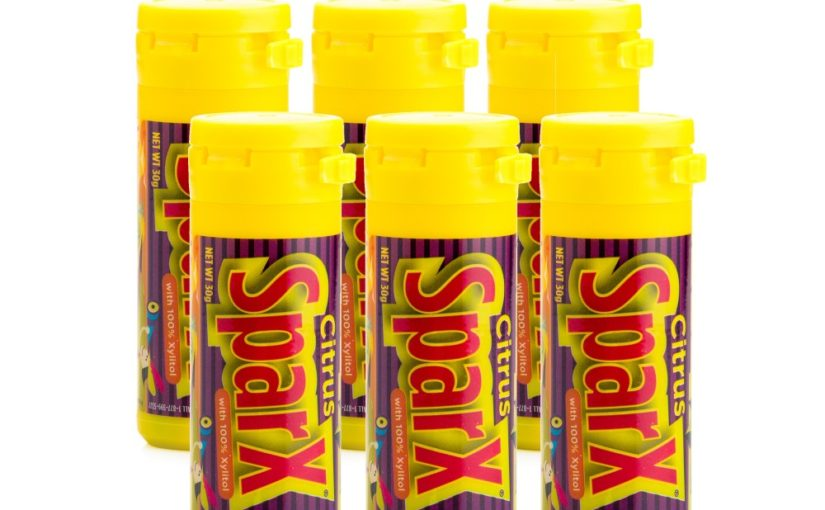 Citrus SparX Xylitol (SUGAR FREE) Candy 6 Pack