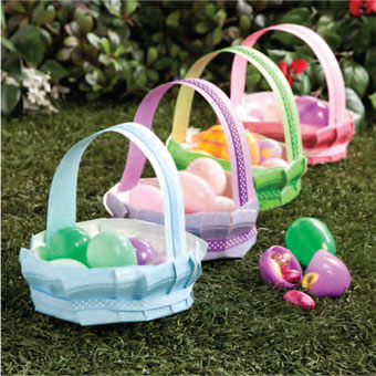 Everything You Want Easter Crafts For Kids To Be Fill With Eggs Candy Or Use As Homemade Gift Baskets Family Friends
